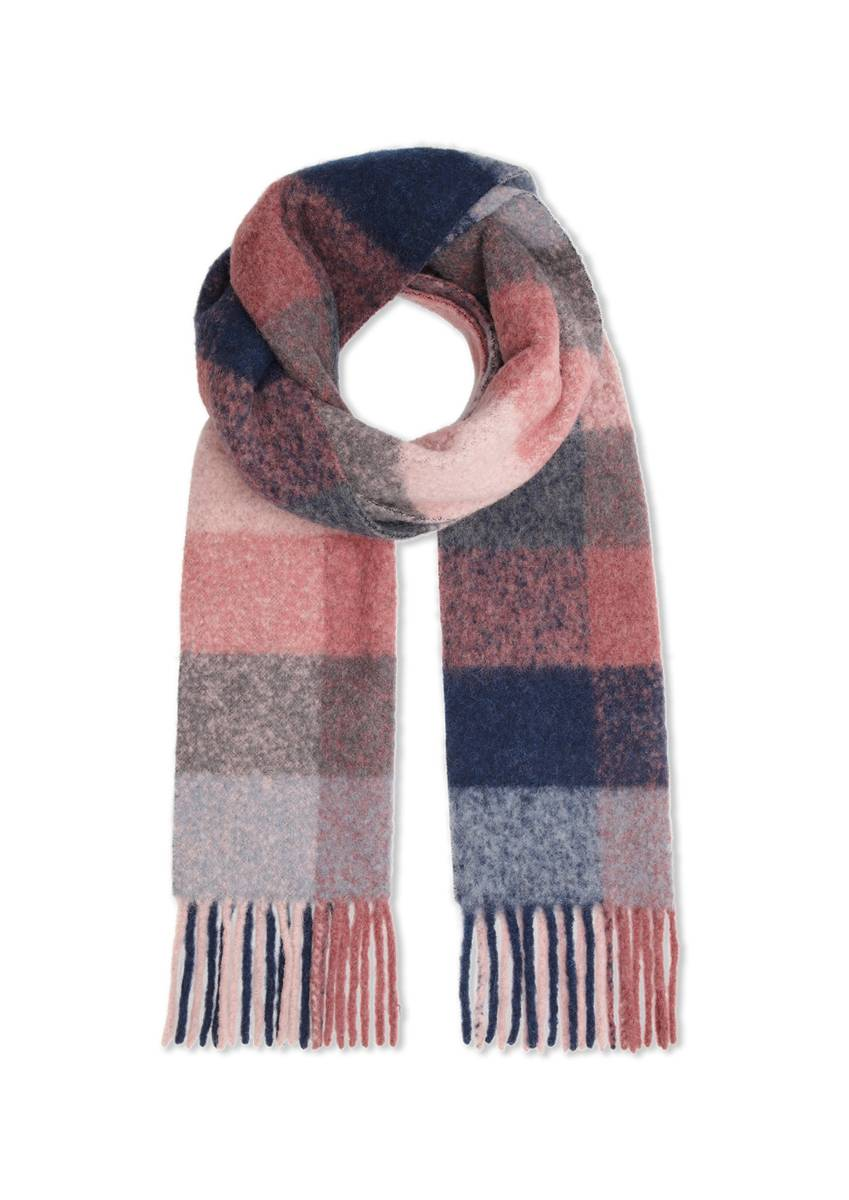 DAY ET - Lux Wool Check Scarf Wild Ginger